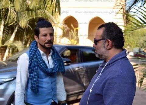 """إياد نصار يواصل تصوير """"سبع أرواح"""" بطريق الواحات في أكتوبر"""