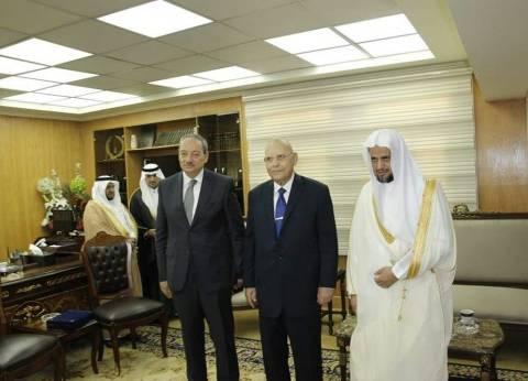 بالصور| وزير العدل يلتقي النائب العام السعودي لبحث التعاون القضائي