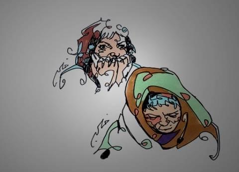 «نادية» ضربت أخت جوزها على راسها بقطعة خشب عشان تسرق 5 آلاف جنيه وقالت للجيران وقعت فى الحمام: «كانت خنقانى»