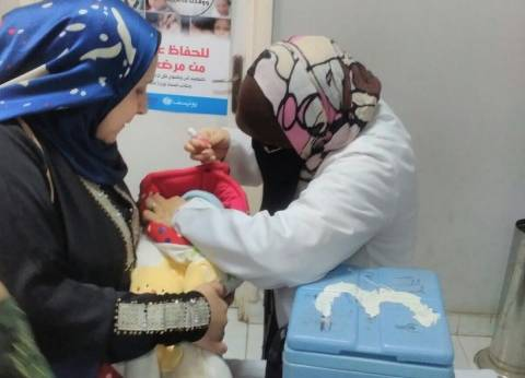 """""""صحة شمال سيناء"""": بدء حملة التطعيم ضد شلل الأطفال 22 يوليو"""