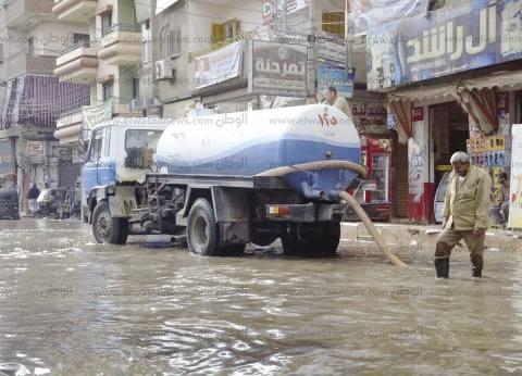 رئيس شركة الصرف الصحي بالإسكندرية: 93 سيارة شفط بالشوارع لتنظيف المدينة