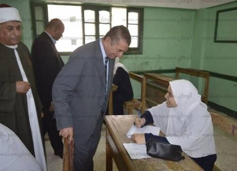 محافظ كفر الشيخ يتفقد انتظام لجان امتحانات الثانوية الأزهرية