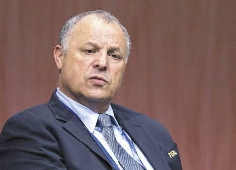 أبوريدة: لا أملك إلا الإعتذار للشعب المصري عن اداء المنتخب الوطني في المونديال
