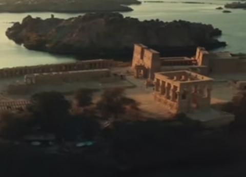 """""""خلد حب إيزيس وأوزوريس"""".. قصة معبد فيلة الذي ظهر في وثائقي شباب العالم"""
