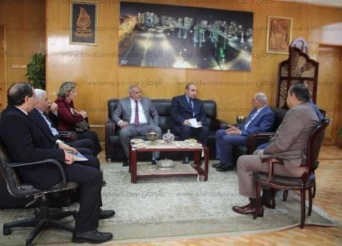 لجنة الهيئة القومية لضمان جودة التعليم والاعتماد تزور صيدلة كفر الشيخ