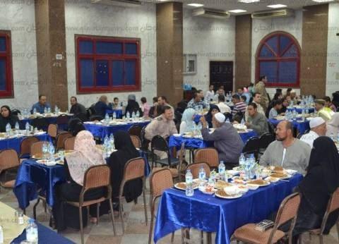 مديرية أمن المنوفية تقيم حفل إفطار لأسر شهداء الشرطة