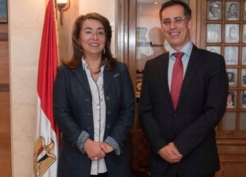 وزيرة التضامن تبحث مع سفير سويسرا تعزيز التعاون في المجال الاجتماعي