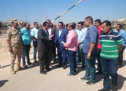 بالصور| مدير أمن الإسكندرية يتفقد استاد برج العرب قبل نهائي كأس مصر