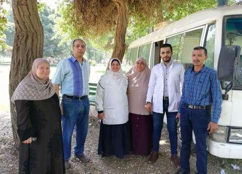 قافلة طبية مجانية لرواد حدائق القناطر في العيد
