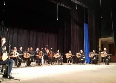 إحياء حفل أوركسترا بيت العود العربي على مسرح قصر ثقافة بورسعيد