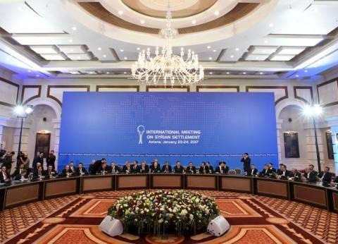 """""""خارجية كازاخستان"""": متفائلون بنتائج ملموسة لـ""""أستانة 8"""" حول سوريا"""