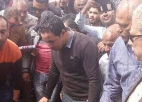 محافظ الإسماعيلية ومدير الأمن ينتقلان لمحيط بلاغ العثور على قنبلة