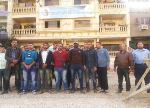 75 عامل يبحثون عن حقوقهم بشركة مياه الإسماعيلية