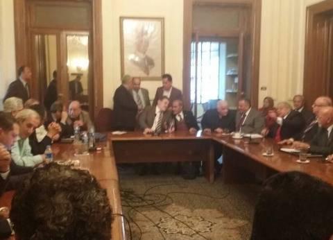 """بدء اجتماع """"عليا الوفد"""" لبحث تعديل اللائحة الداخلية للحزب"""