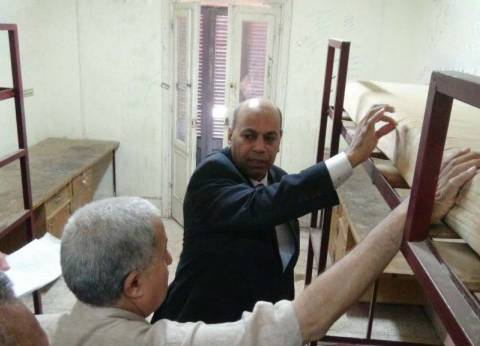 تجهيز المدن الجامعية قبل بدء الدراسة بجامعة المنيا