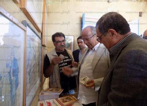 """""""الشريف"""": نطمح لتحويل القرى المصرية لمنتجة مثل """"تونس"""" بالفيوم"""