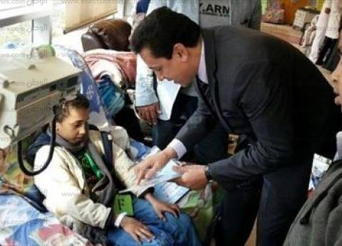 محافظ الشرقية يتبرع بـ10 آلاف جنيه لمستشفى سرطان الأطفال 57357