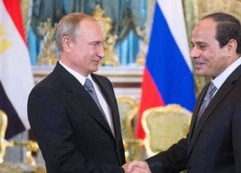بوتين يهنئ السيسي بفوزه في الانتخابات: أتمنى استمرار التعاون