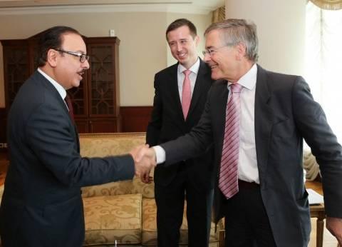 """""""القاضي"""": تعاون مصري ألماني في مجالات الاتصالات وتكنولوجيا المعلومات"""