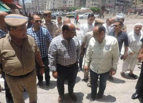 بالصور| مدير أمن الغربية يتفقد خدمات تأمين المسجد الأحمدي والكنائس