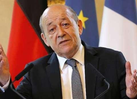 """وزير الخارجية الفرنسي يحذر من """"حرب دائمة"""" في الشرق الأوسط"""