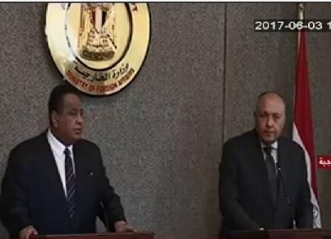 وزير خارجية السودان: لا يوجد تصعيد إعلامي مع مصر