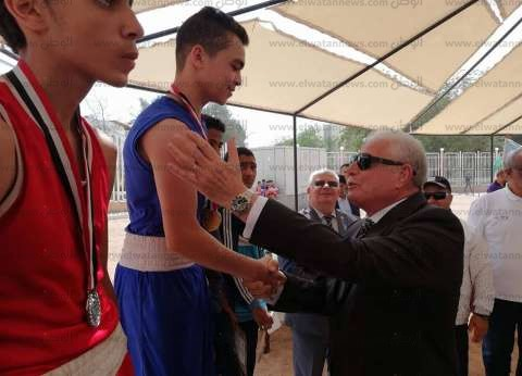 بالصور| محافظ جنوب سيناء يشهد ختام بطولة الجمهورية للملاكمة بشرم الشيخ