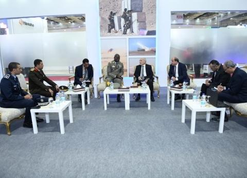 رئيس أركان الجيش المالي: نتطلع لفتح آفاق تعاون عسكري مع مصر
