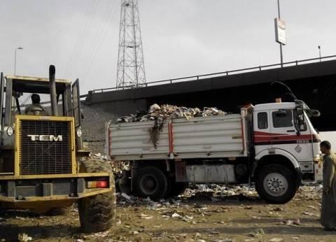 بالصور| حملة نظافة مكبرة في مدينة بنها