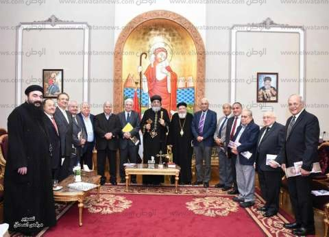 البابا يستقبل أعضاء المجلس الملي المنتهية ولايته منذ 7 سنوات