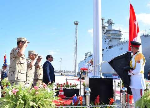 الرئيس يفتتح «مجمع المحاكيات» بالإسكندرية فى العيد الـ50 للقوات البحرية