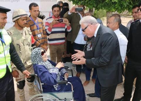 محافظ جنوب سيناء: أشاهد مظاهرة حب غير مسبوقة في لجان الانتخابات