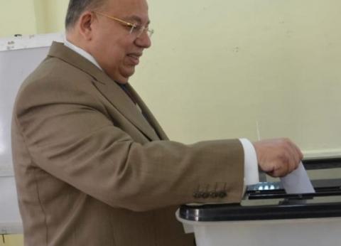 """وكيل البرلمان يدلي بصوته في """"استفتاء الدستور"""""""