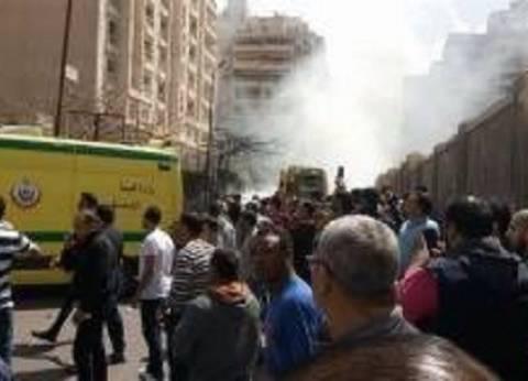 أمن الإسكندرية: ارتفاع مصابي حادث الانفجار إلى 6 حالات