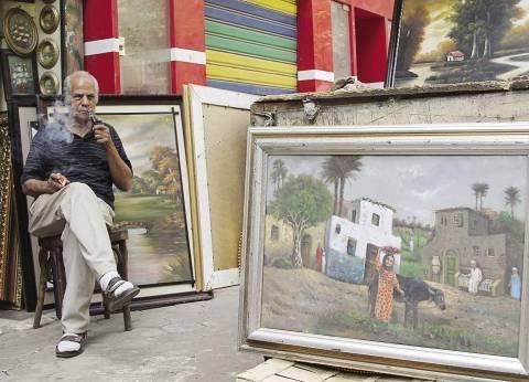 رحلة رسام من لندن إلى السيدة زينب: هنا العيلة.. هنا كل حاجة جميلة