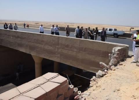 تسليم 14 جثة لأهالي المتوفين بحادث أتوبيس بني سويف