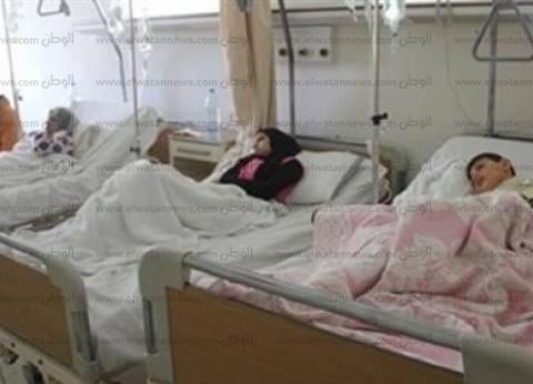 إصابة 7 من أسرة واحدة بينهم 5 أطفال بتسمم غذائي في الفيوم