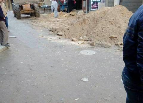 حي منتزه ثانٍ بالإسكندرية يتابع أعمال توسعة الطرق في العصافرة