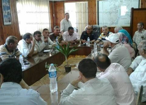بالصور| رئيس مدينة فوة يطالب بتشديد الرقابة على المستودعات والأسواق