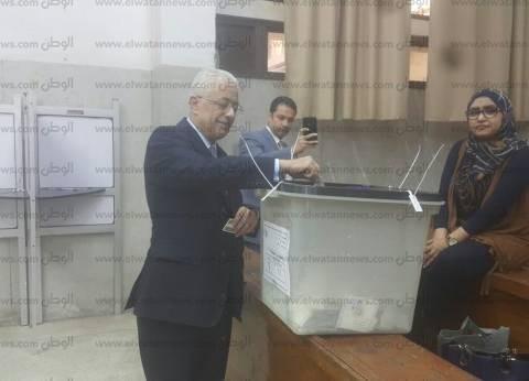 بالصور| وزير التربية والتعليم: الانتخابات في مصر عرس ديمقراطي كبير