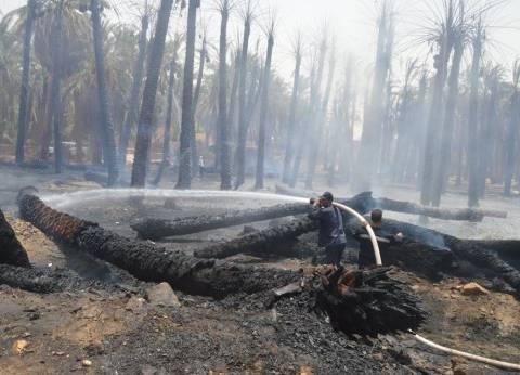 إصابة شخصين إثر حريق مقلب قمامة في الشرقية