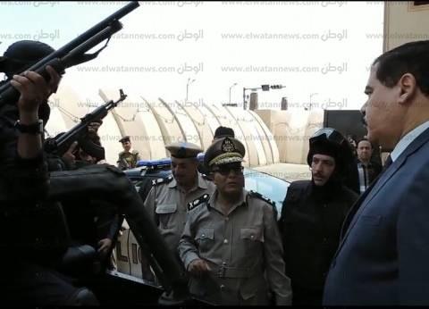 مدير أمن الدقهلية يتفقد منظومة قوات التدخل السريع