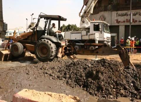 بالصور| محافظ القاهرة: الدفع بـ10شفاطات لإزالة آثار المياه بشارع الألفي