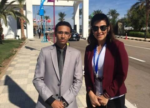 """دينا عبدالكريم: الشاب الذي قاطع جلسة """"شباب العالم"""" اعتذر لي"""