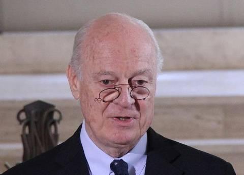 دي ميستورا: الأمين العام هو من يقرر تلبية الدعوة لمؤتمر سوتشي