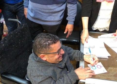 أحمد رأفت.. استوقف السيسي بمؤتمر الشباب وأدلى بصوته في لجنة الرئيس