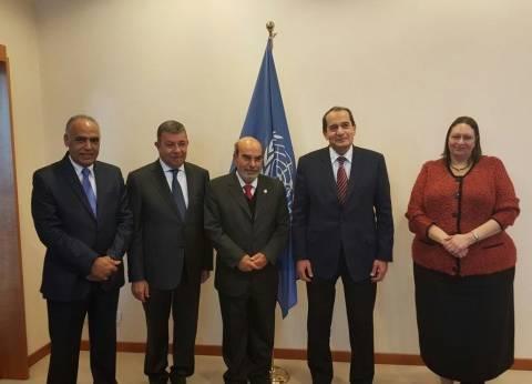 """وزير الزراعة يلتقي مدير """"فاو"""" لبحث تعزيز التعاون بين المنظمة والقاهرة"""