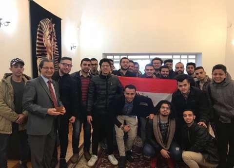 رغم بعد المسافة.. الجالية المصرية في روسيا تواصل التصويت لليوم الثالث