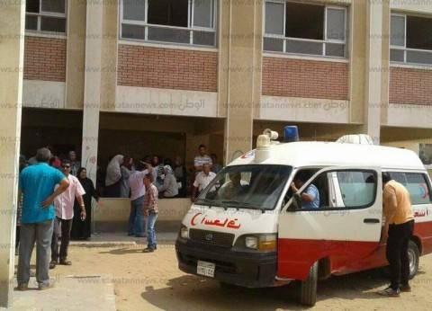 """""""إسعاف المستشفى العسكري"""" يشارك في نقل مصابي """"تفجير العريش"""""""