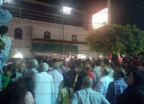 الآلاف بالبحيرة يودعون الشهيد مصطفى النجار في جنازة مهيبة